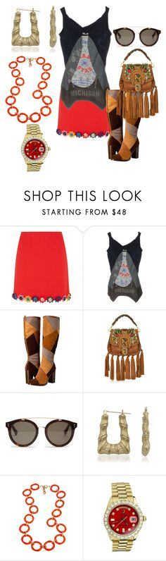 """""""Untitled #6792"""" by billyblaze ❤ liked on Polyvore featuring Mary Katrantzou, Frye, GEDEBE, STELLA McCARTNEY, Bamboo, Fornash and Rolex"""