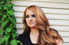 The Prettibloom Blog: Bronde hair color and smokey eyes