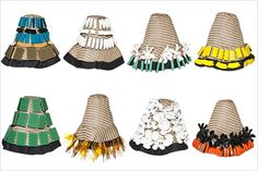 limited edition Marni hats for H&M. Want.Them.All.