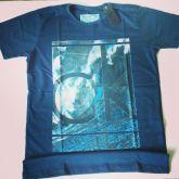 Camisa Calvin Klein Azul Marinho