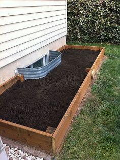 diy garden box for a small yard tutorial, diy, gardening, how to, raised garden beds, woodworking projects