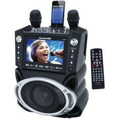 """Karaoke Usa Karaoke System With 7"""""""" Tft Color Screen Record Function & Bluetooth"""