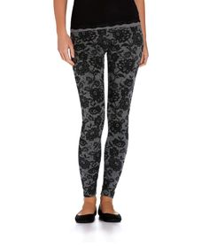 3/5 items from Aeropostale.com Floral laced leggings. Be cute with a hoody or baggy shirt ❤