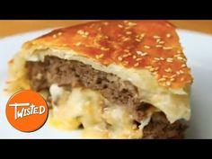 Cheese Stuffed Burger Wellington | Twisted - YouTube