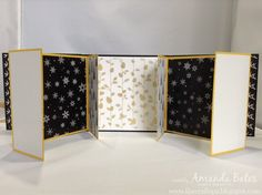 The Craft Spa - Stampin' Up! UK independent demonstrator : Another Winter Wonderland Mini Book & Another Tutorial...