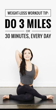 Weight loss workout Tips