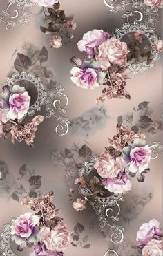 💖🌹💖🌹💖 Vintage Flowers Wallpaper, Flowery Wallpaper, Flower Background Wallpaper, Flower Phone Wallpaper, Beautiful Flowers Wallpapers, Butterfly Wallpaper, Flower Backgrounds, Beautiful Roses, Iphone Wallpaper
