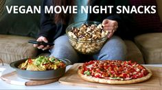 VEGAN MOVIE NIGHT SNACKS -Caramel Corn with vegan butter or coconut oil -Nacho Cheese with cashews