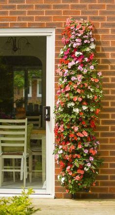 pvc pipe planter - luv this!