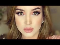 Beginners Makeup Tutorial - How to apply Foundation, Contour, Blush! - YouTube