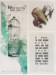 A cage.