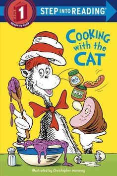 The Cat in the Hat bakes cupcakes in this simple retelling of a scene from the movie version of Dr. Seuss's classic book.
