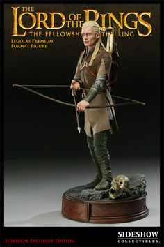 Legolas Premium Format Figure - Exclusive with Orc skull