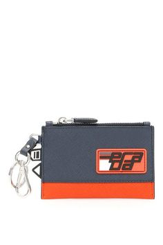 038f159447ae55 Prada Rubber Logo Patch Zipped Wallet – Cettire