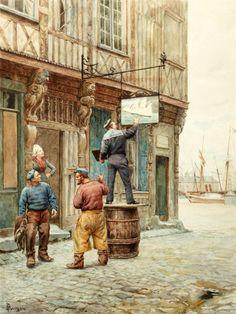 Gustave Bourgain (French, 1855-1921) . Обсуждение на LiveInternet - Российский Сервис Онлайн-Дневников
