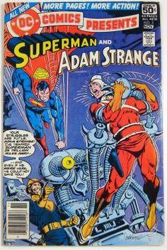 DC Comics Presents #3 Superman Adam Strange (1978) FREE Shipping & Low Slice!