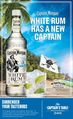 A bright new cocktail that will dazzle on any occasion. #simple #recipe #rum #whiterum #cocktail #Captain #Morgan