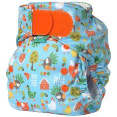 Bummis Easy Fit Pocket Diaper - Hook - baby earth