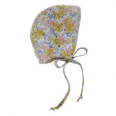 As delightful as the first glimpse of vivid spring flowers, Goldie is the bee's knees. Goldie Bonnet by Briar Handmade – Briar Bonnets
