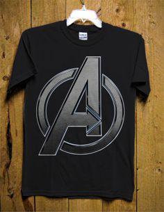 shirt-Official Licensed-Gris Marvel-Endgame Logo-Avengers-garçon-T