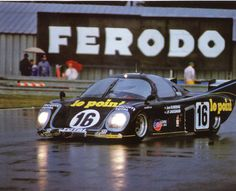Rondeau M379 B 003, Le Mans 24 Hours, 1980. - Engine: 2993cc Ford Cosworth DFV / N/A V8/90° 4V DOHC, Heini Mader Racing Components. Drivers: Jean Rondeau / Jean-Pierre Jaussaud (winner).