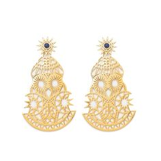 607655763e19 JEWELLERY Earrings GOLD Pendientes Grandes