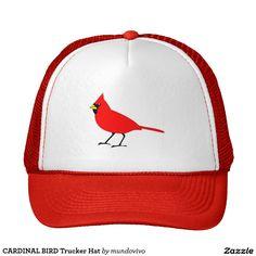 CARDINAL BIRD Trucker Hat