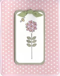by Bizet - Cards and Paper Crafts at Splitcoaststampers Trendy Tree, Happy Spring, Summer Flowers, Craft Patterns, Flower Cards, Creative Cards, Blank Cards, Homemade Cards, Stampin Up Cards