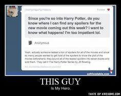 hahahahahahahaha Harry Potter Memes, Harry Potter Fandom, Harry Potter Love, Narnia, Yer A Wizard Harry, Harry Potter Universal, Lol, Fandoms, Hermione