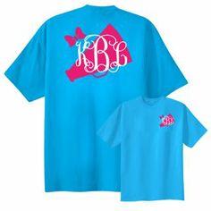 cheer monogram shirt                                                       …