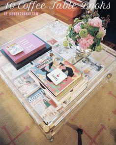 Lauren Conrad's favorite coffee table books #LaurenConrad