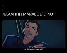 Funny Marvel Memes, Avengers Memes, Marvel Jokes, Disney Marvel, Marvel Avengers, Marvel Comics, Loki, Stucky, Daffodil