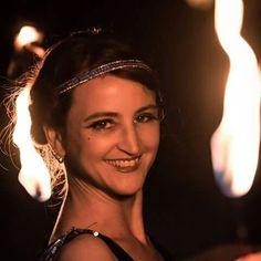 Feuershow im 20er Jahre Style. Z.b. zur Hochzeit oder zum Geburtstag