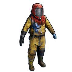 YELLOW HAZMAT BAD CHEMIST FANCY DRESS COSTUME OUTFIT SUIT GAS MASK BIOHAZARD NEW