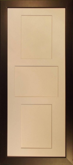 Wood Deco - Timber Photo Frame - Number of Photo cutouts 3 - 2 ...