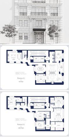 1110 Park Avenue #G 5,617 ft² $18,900,000