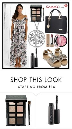 """""""Flover dress"""" by b-necka ❤ liked on Polyvore featuring Bobbi Brown Cosmetics, MAC Cosmetics and Marc Jacobs"""