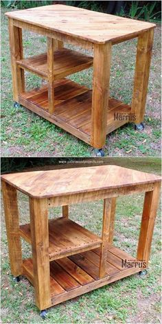 This pallet TV stand is awesomely put together in the moderate design creation. You will encounter the best simple use of the wood pallet finishing as being moderate in size structuring that make it much easy for you to move it from one place to another.