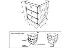 Construye tus propios muebles descargando los planos más exactos en un solo click – Manos a la Obra