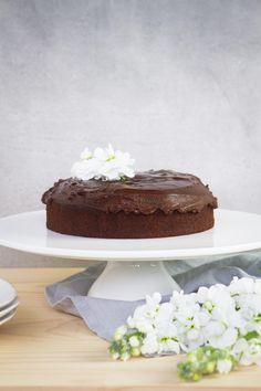Best Ever Gluten Free Vegan Chocolate Cake with Ganache - Ascension Kitchen