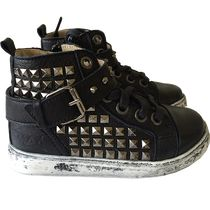 MAA Boys Rocker Shoes Black