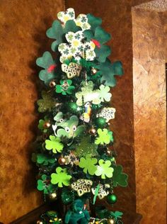 My St Patrick's Day Tree