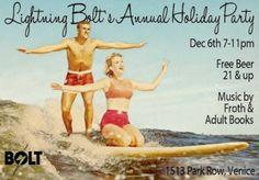 Tandem Surfing, Ventura Beach, CA 93001 vintage postcard Vintage Surf, Vintage Ads, Vintage Posters, Vintage Hawaiian, Vintage Travel, Vintage Images, Retro Posters, Vintage Pictures, Vintage Advertisements