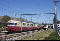 RailPictures.Net Photo: RAe 1053 SBB RAe TEE II at La Plaine, Switzerland by Viersieben