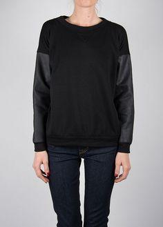 Myne - Cartal Sweatshirt in Black
