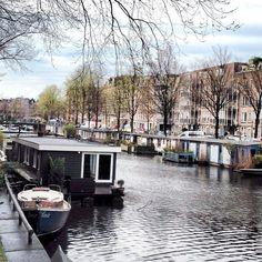 Jour 5 : Au revoir Amsterdam . Demain c'est Bruxelles  avant le retour  #amsterdam #roadtripamsterdam #amsterdamrose2016 by rose_moustache