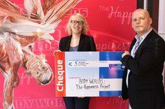 BODY WORLDS Amsterdam heeft €5000 opgehaald voor de KWF Kankerbestrijding! KWF Collecteweek 2015