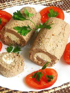 "In suplimentul de la revista ""Femeia de azi"", am gasit acesta rulada, asa ca am incercat-o. Amazing Food Decoration, Fresh Rolls, Ethnic Recipes"