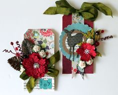 Christmas tags by Prima Educator, Cari Fennell using North Country collection