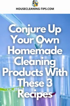 Making my own homemade cleaning products takes me back to those chemistry labs I suffered through in high school. #homemadecleaningproducts #homemadecleaningrecipes